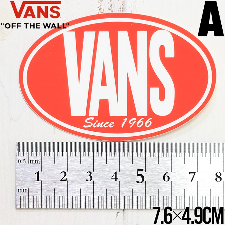 【送料無料】 VANS ヴァンズ STICKER ステッカー VN0A5428