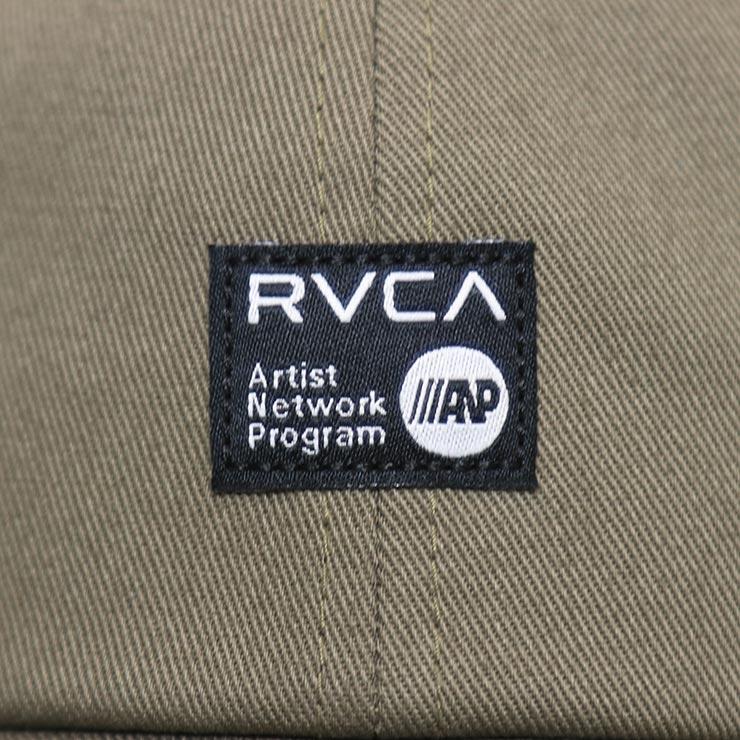 【送料無料】 RVCA ルーカ ANP CAP ストラップバックキャップ MAHW3RAC