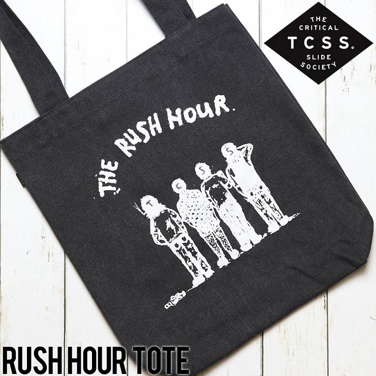 [クリックポスト対応] TCSS ティーシーエスエス RUSH HOUR TOTE BAG トートバッグ TO1810