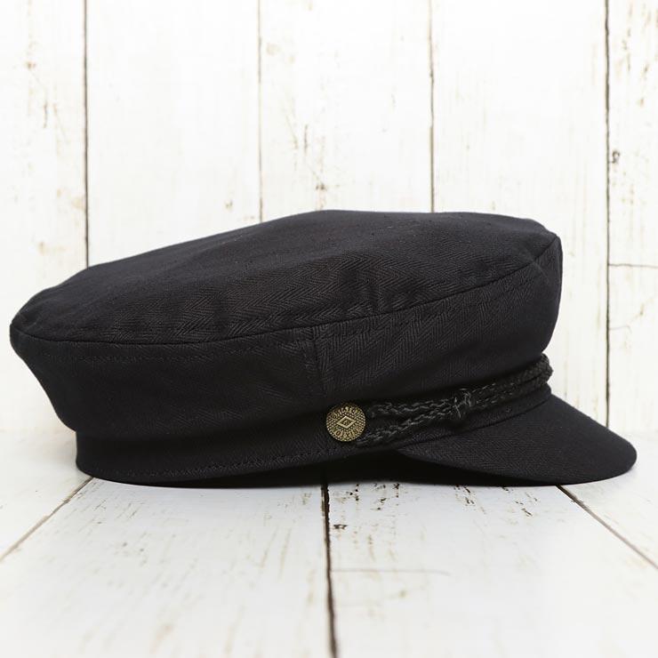 【送料無料】 BRIXTON ブリクストン FIDDLER CAP ハンチング マリンキャップ 00004 BLACK