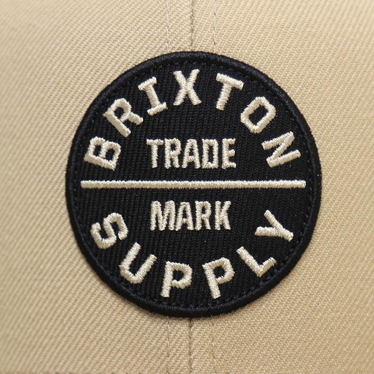 【送料無料】 BRIXTON ブリクストン OATH III SNAPBACKCAP スナップバックキャップ 00173 KHAKI