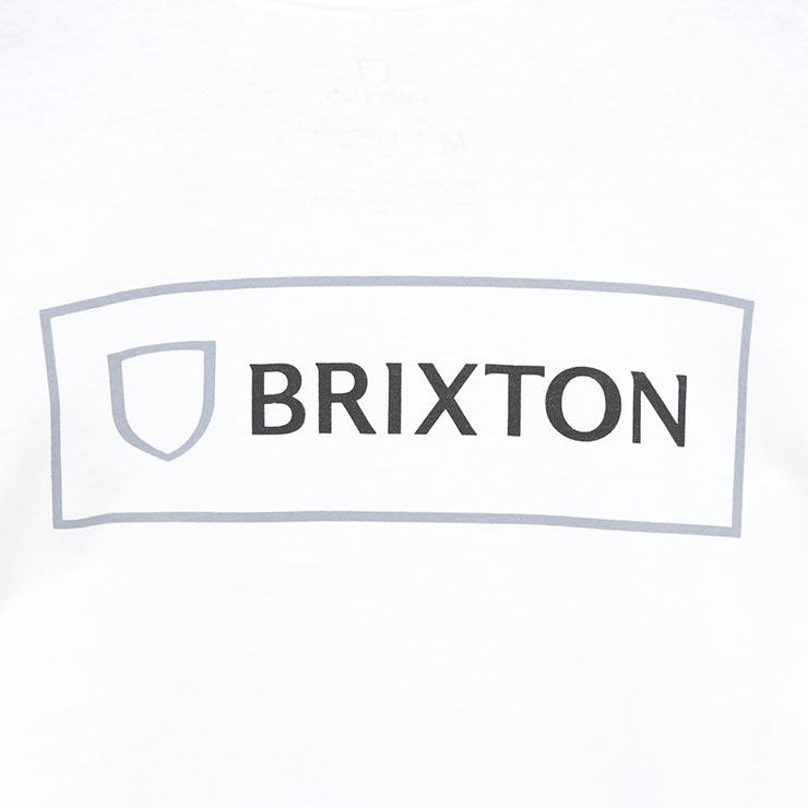 [クリックポスト対応] BRIXTON ブリクストン ALPHA BLOCK L/S TEE ロングスリーブTEE 16340