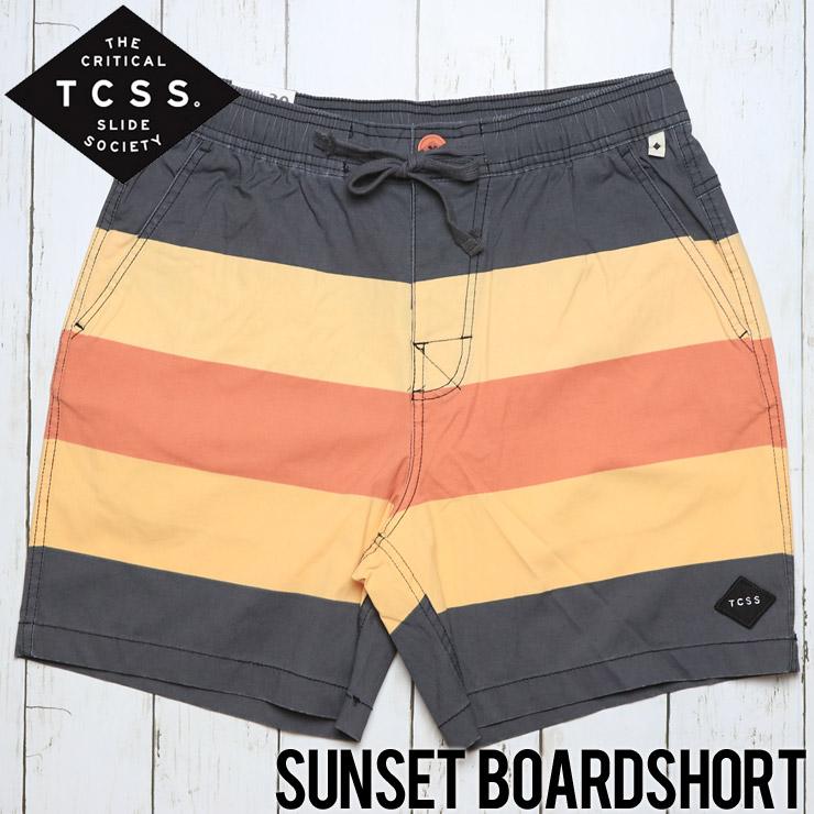 [クリックポスト対応] TCSS ティーシーエスエス SUNSET BOARDSHORT ボードショーツ BS1810