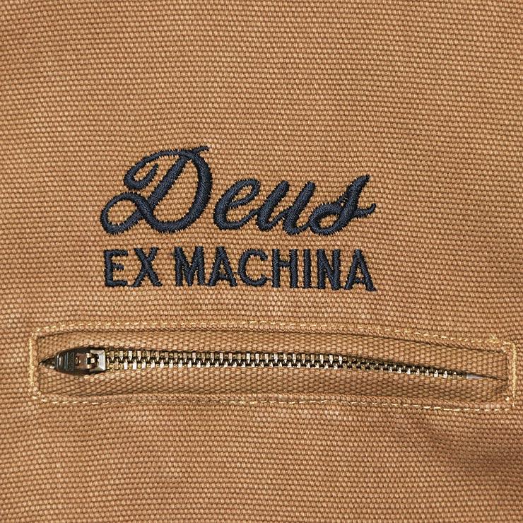 Deus Ex Machina デウスエクスマキナ FRANKLIN HOODED JACKET フードジャケット DMF96067 DRIFTWOOD TAN
