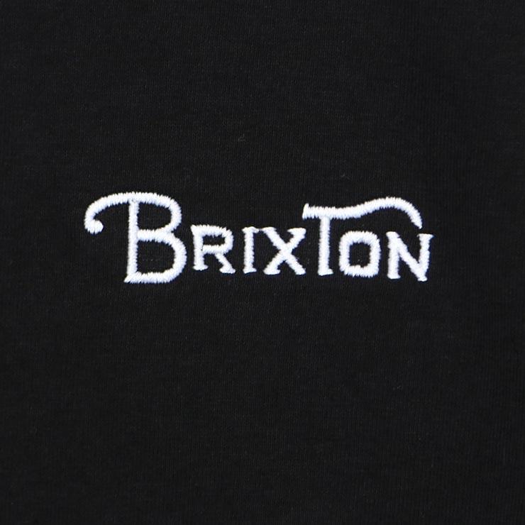 [クリックポスト対応] BRIXTON ブリクストン GRADE III S/S TEE 半袖Tシャツ 16061 BLACK