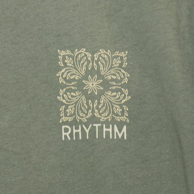 [クリックポスト対応] Rhythm リズム ORCHID S/S TEE 半袖Tシャツ 0421M-PT09