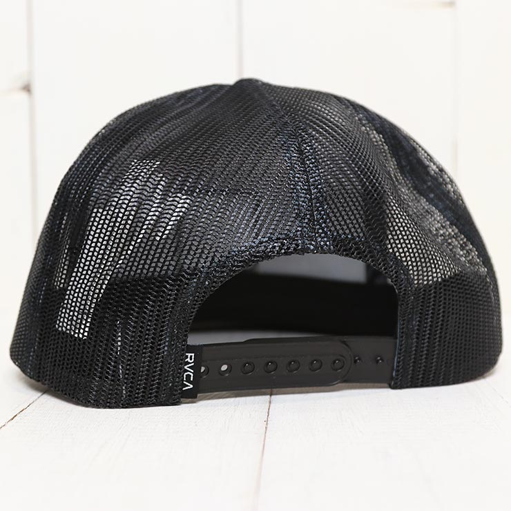 【送料無料】 RVCA ルーカ VA ATW PRINT TRUCKER HAT メッシュキャップ MAHW3RVP