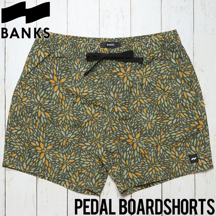 [クリックポスト対応] BANKS バンクス PEDAL BOARDSHORTS ボードショーツ BSU003