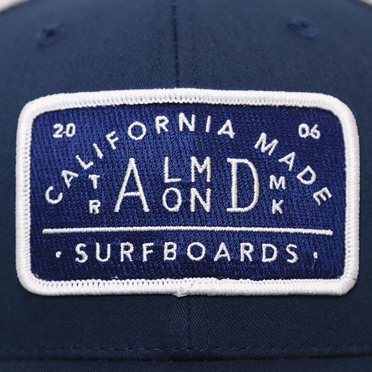 【送料無料】ALMOND アーモンド NAVY ALMOND TRUCKER HAT メッシュキャップ