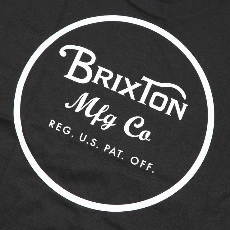 [クリックポスト対応] BRIXTON ブリクストン WHEELER II S/S STANDARD TEE 半袖Tシャツ 06452