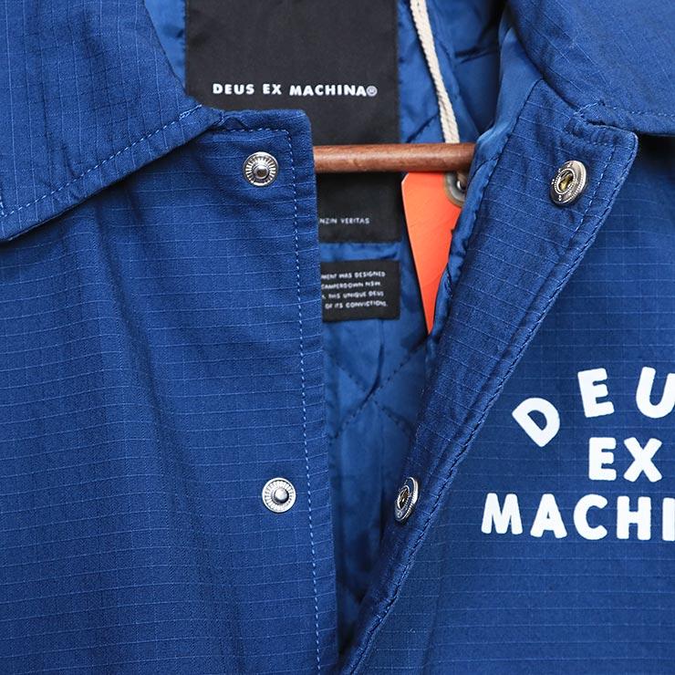 Deus Ex Machina デウスエクスマキナ BOWMAN VENICE COACH JACKET コーチジャケット DMW96029B