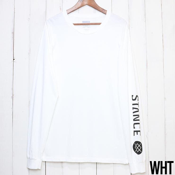 [クリックポスト対応] STANCE スタンス SOURCE L/S TEE ロンT ロングスリーブTシャツ A3LS1D19SO