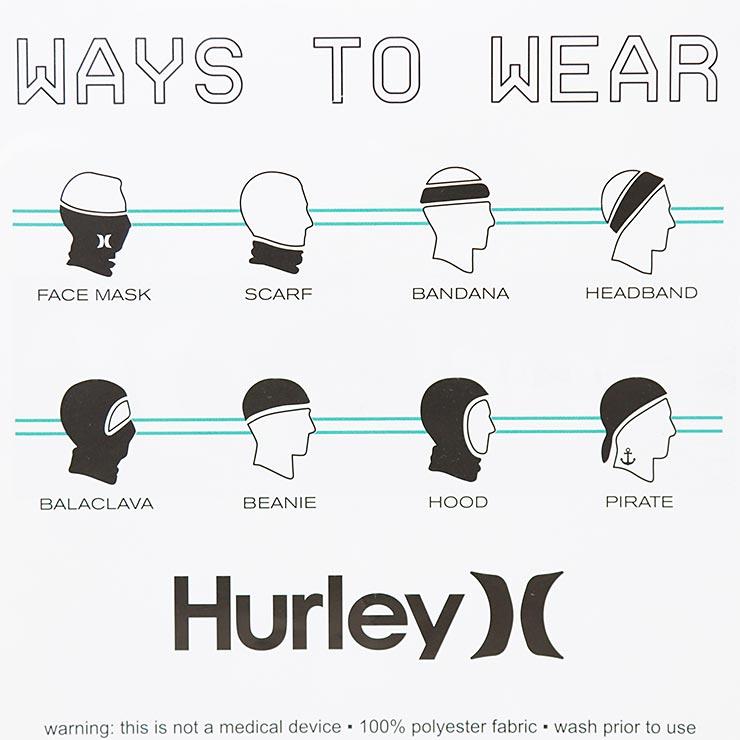 [クリックポスト対応] HURLEY ハーレー ICON GAITER ネックゲイター HIFM0003