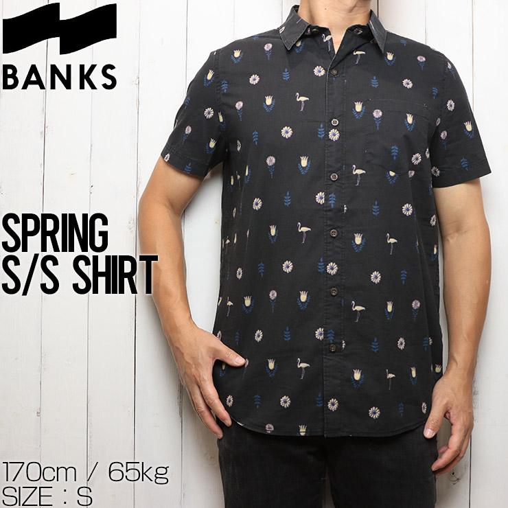 [クリックポスト対応] BANKS バンクス SPRING S/S SHIRTS 半袖シャツ WSS0153