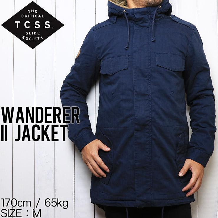 [送料無料] TCSS ティーシーエスエス WANDERER II JACKET ミリタリージャケット JK1811