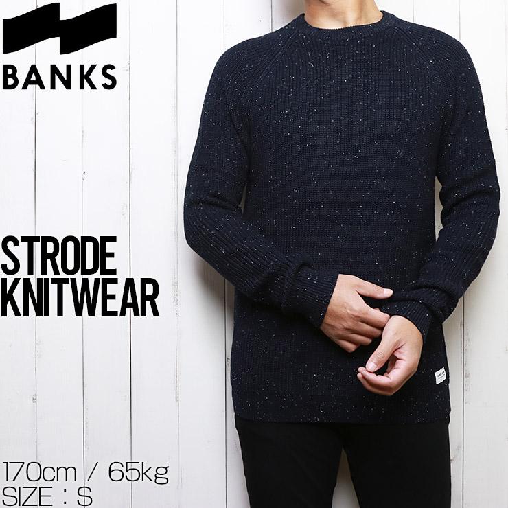 BANKS バンクス STRODE KNITWEAR コットンセーター ニット WKN0077