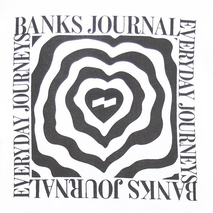 [クリックポスト対応] BANKS バンクス HEART WRAP L/S TEE ロングスリーブTEE ロンT WLTS0054