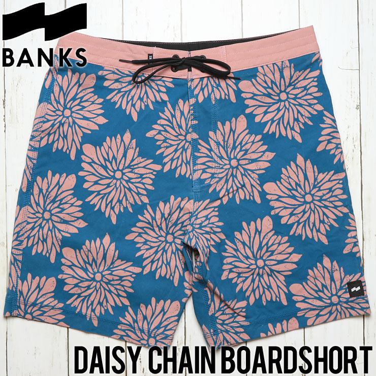 [クリックポスト対応] BANKS バンクス DAISY CHAIN BOARDSHORT ボードショーツ BS0124