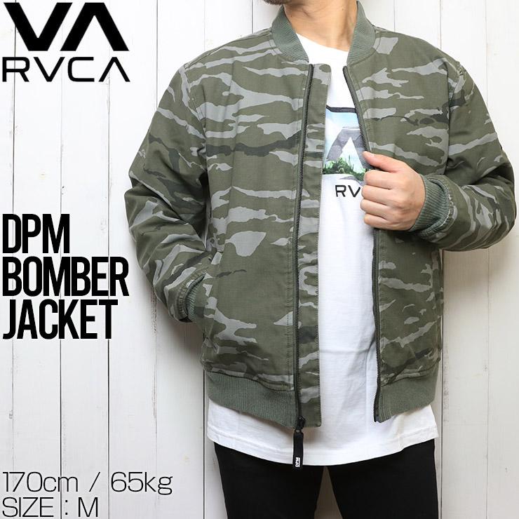 RVCA ルーカ DPM BOMBER JACKET ボンバージャケット AVYJK00102