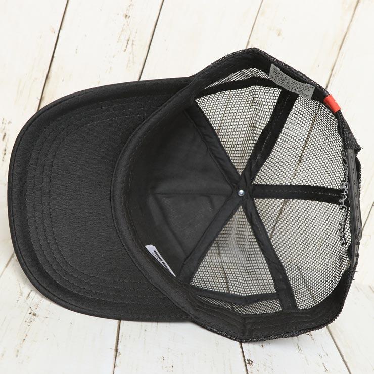 【送料無料】 Deus Ex Machina デウスエクスマキナ VENICE ADDRESS TRUCKER CAP メッシュキャップ DMA27306 BLACK