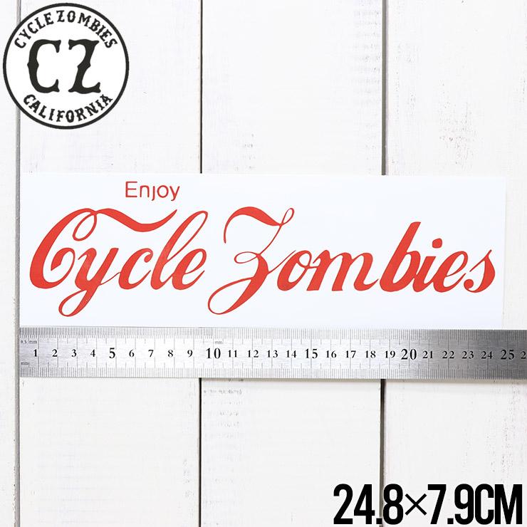 【送料無料】Cycle Zombies サイクルゾンビーズ CZ BUMPER STICKER ステッカー CZ-BSTK-001AST #7
