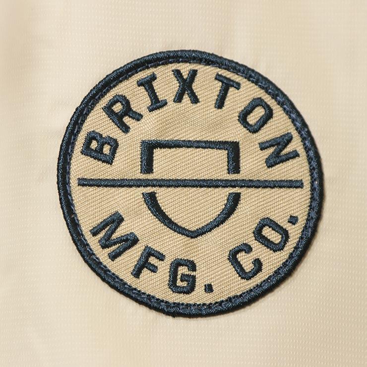 [クリックポスト対応] BRIXTON ブリクストン CLAXTON CREST LIGHT WEIGHT ZIP HOOD JACKET ナイロンジャケット 03292