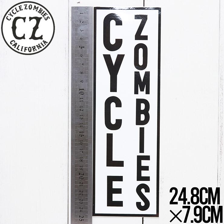 【送料無料】 Cycle Zombies サイクルゾンビーズ CZ BUMPER STICKER ステッカー CZ-BSTK-001AST #8