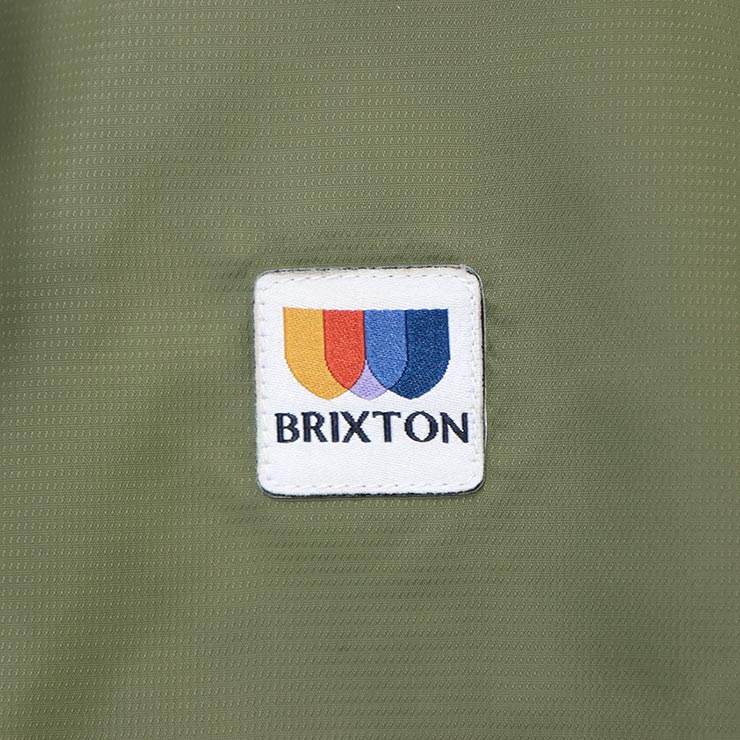 [クリックポスト対応] BRIXTON ブリクストン CLAXTON ALTON LIGHT WEIGHT ZIP HOOD JACKET ナイロンジャケット 03293