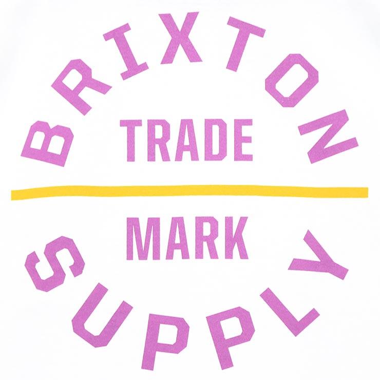 [クリックポスト対応] BRIXTON ブリクストン OATH V S/S TEE 半袖Tシャツ バックプリントTEE 16170