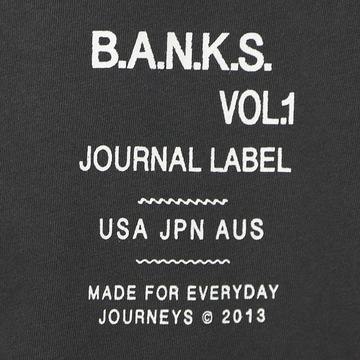 [クリックポスト対応] BANKS バンクス TUNE S/S TEE 半袖Tシャツ WTS0338