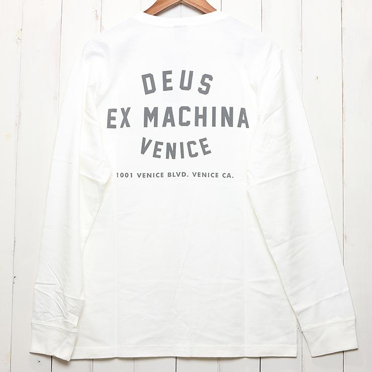 [クリックポスト対応] Deus Ex Machina デウスエクスマキナ VENICE L/S TEE ロンT ロングスリーブTEE T-DMA61831B