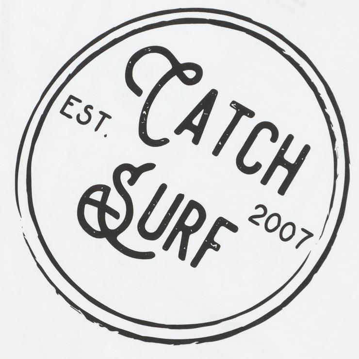 [クリックポスト対応] CATCH SURF キャッチサーフ STAMP LOGO S/S TEE 半袖Tシャツ A8TEE003