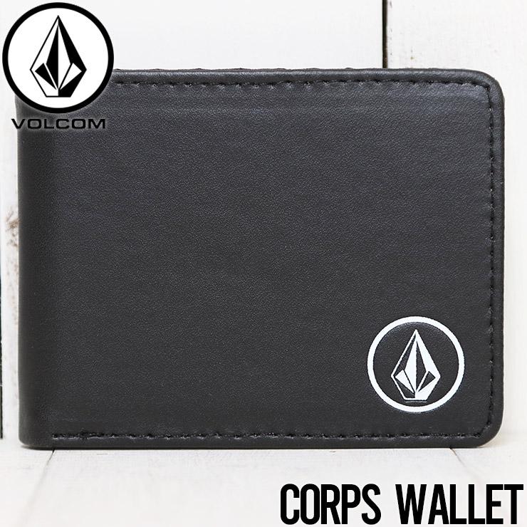 [クリックポスト対応] VOLCOM ボルコム CORPS WALLETS 二つ折り財布 ウォレット D6011592