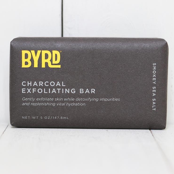 BYRD バード CHARCOAL EXFOLIATING BAR ソープ 石けん チャコールバーソープ #96891