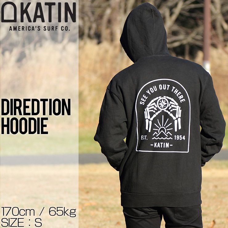 KATIN ケイティン DIREDTION HOODIE プルオーバーパーカー LDIR02