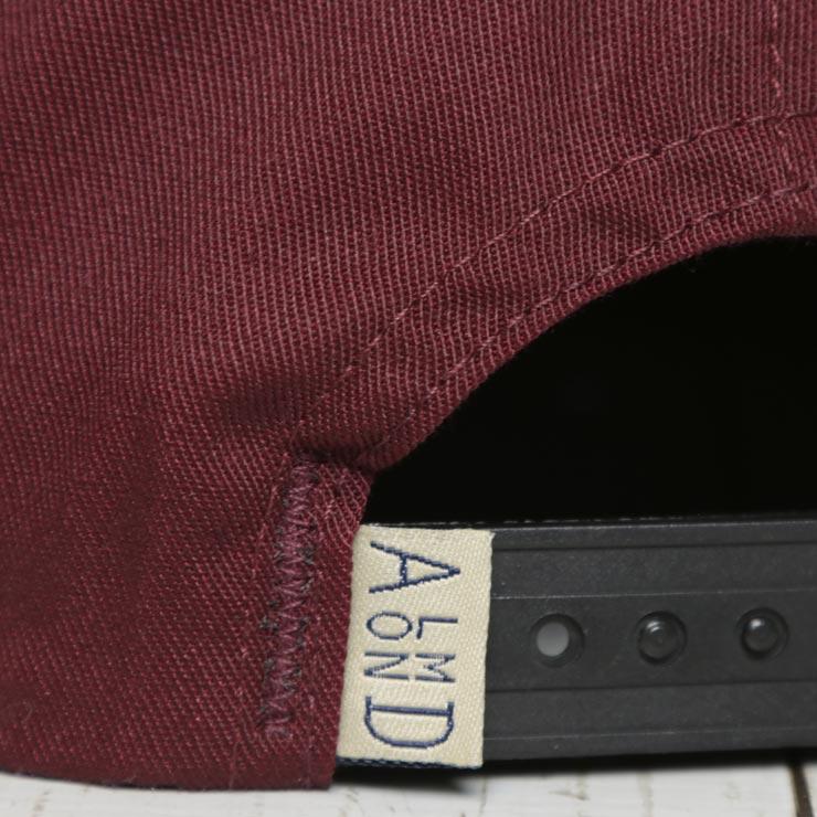 ALMOND SURF アーモンド SURF SHOP HAT スナップバックキャップ