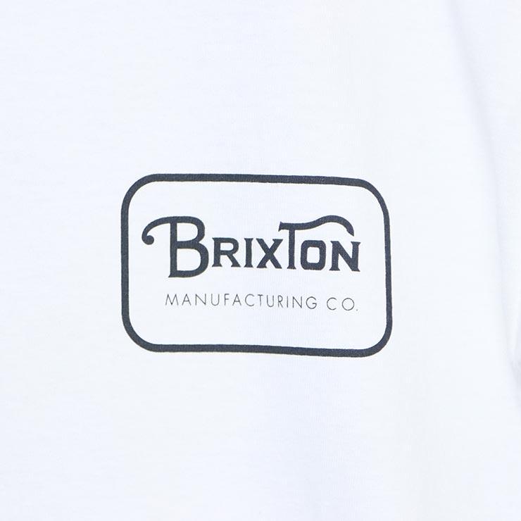 [クリックポスト対応] BRIXTON ブリクストン GRADE S/S STANDARD TEE 半袖Tシャツ 06251 WHTCH