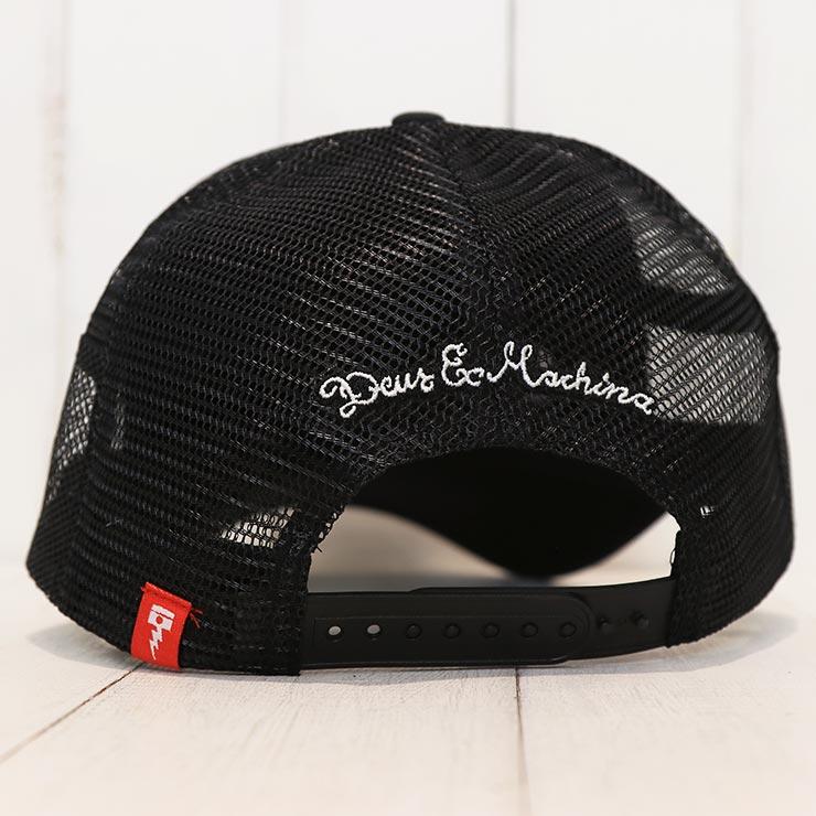 【送料無料】 Deus Ex Machina デウスエクスマキナ CIRCLE LOGO TRUCKER CAP メッシュキャップ DMA57994
