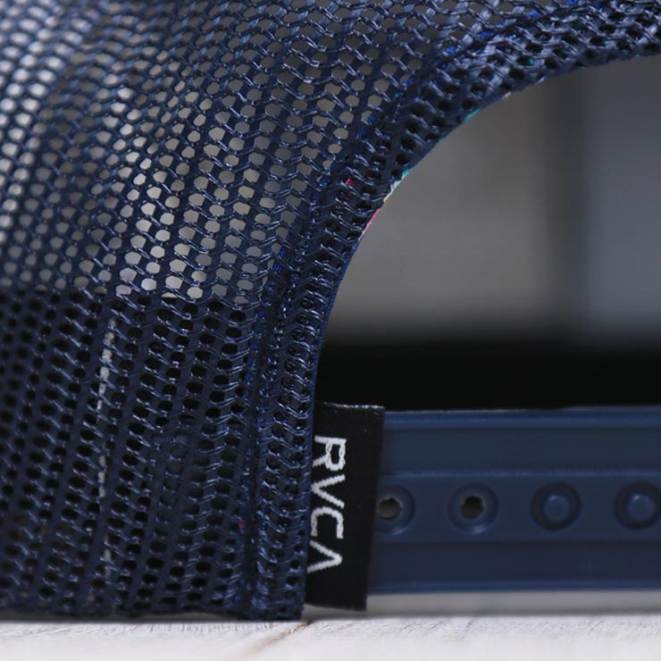 【送料無料】 RVCA ルーカ VA ATW PRINT TRUCKER HAT メッシュキャップ MAHW3RVP [FB]
