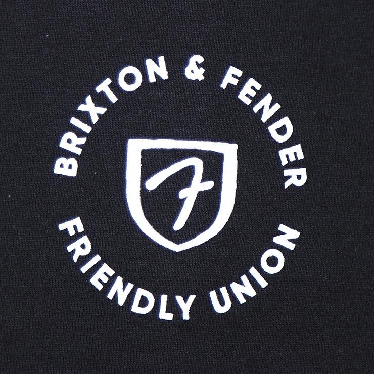 [クリックポスト対応] BRIXTON ブリクストン FENDER HIGHWAY S/S TEE 半袖Tシャツ 16527