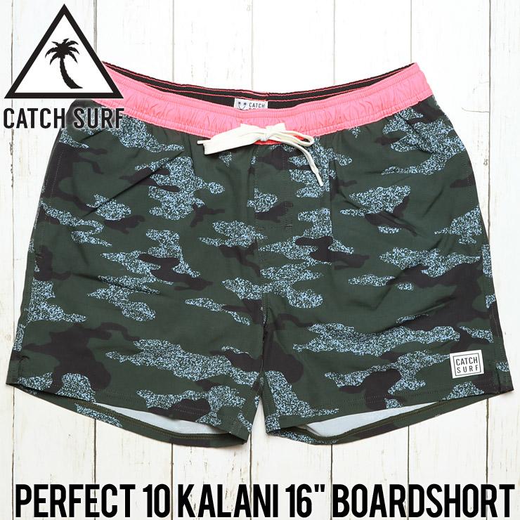 """[クリックポスト対応] CATCH SURF キャッチサーフ PERFECT 10 KALANI 16"""" BOARDSHORT ボードショーツ サーフパンツ A7BRD016"""