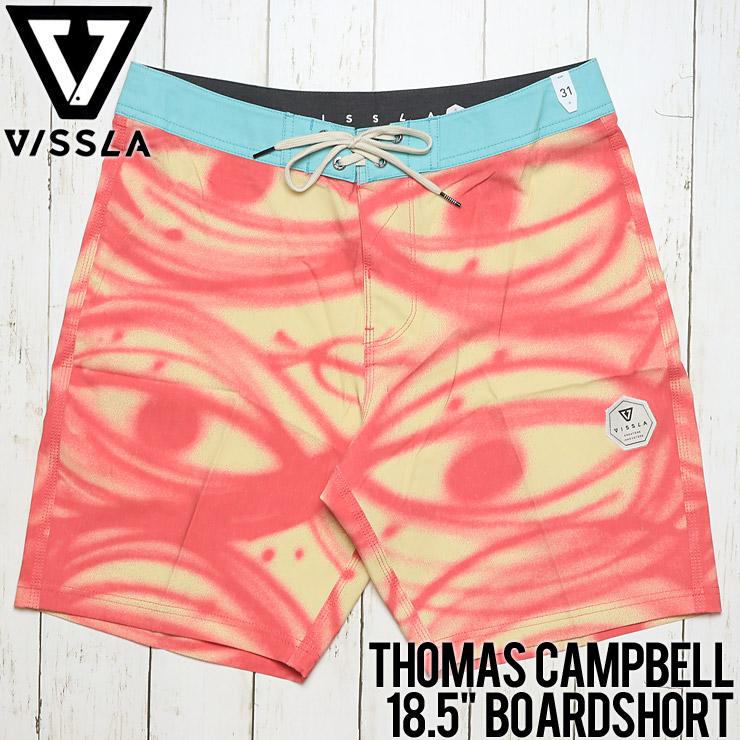 """[クリックポスト対応] VISSLA ヴィスラ Thomas Campbell 18.5"""" Boardshort ボードショーツ M125HTHC"""