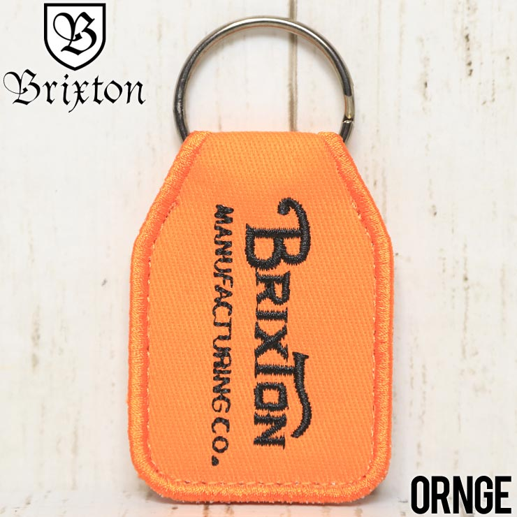 [クリックポスト対応] BRIXTON ブリクストン TRIBUTE KEY CHAIN キーリング 05222