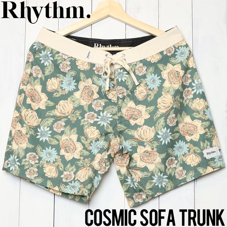 [クリックポスト対応] Rhythm リズム COSMIC SOFA TRUNK ボードショーツ APR19M-TR01