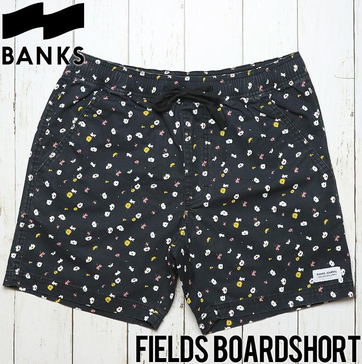 [クリックポスト対応] BANKS バンクス FIELDS BOARDSHORT ボードショーツ BS0133