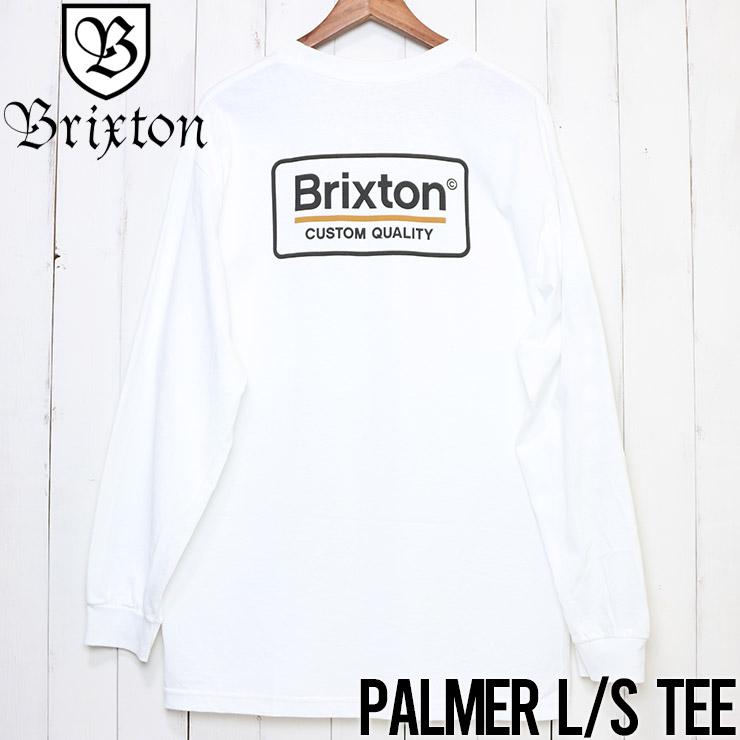 [クリックポスト対応] BRIXTON ブリクストン PALMER II L/S TEE ロングスリーブTEE 16078