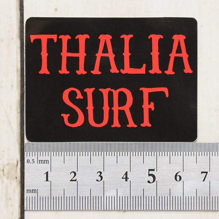 """[クリックポスト対応] THALIA SURF タリアサーフ BRANDO SMALL 2 1/2"""" STICKER ステッカー"""