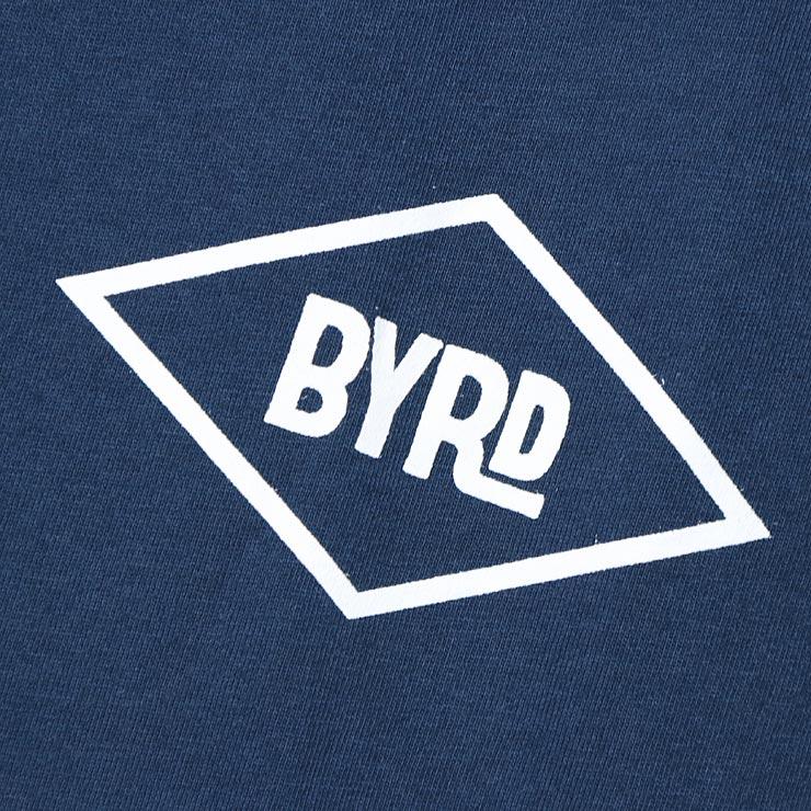 [クリックポスト対応] BYRD バード DIAMOND LOGO S/STEE 半袖Tシャツ BGD