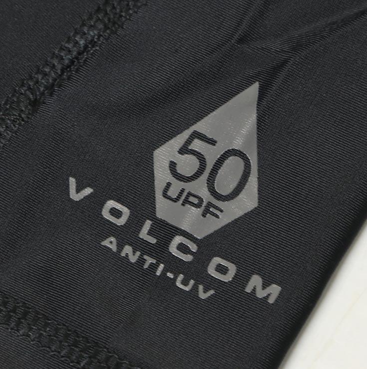 [クリックポスト対応] VOLCOM ボルコム LIDO SOLID S/S RASHGUARD 半袖ラッシュガード N0111800