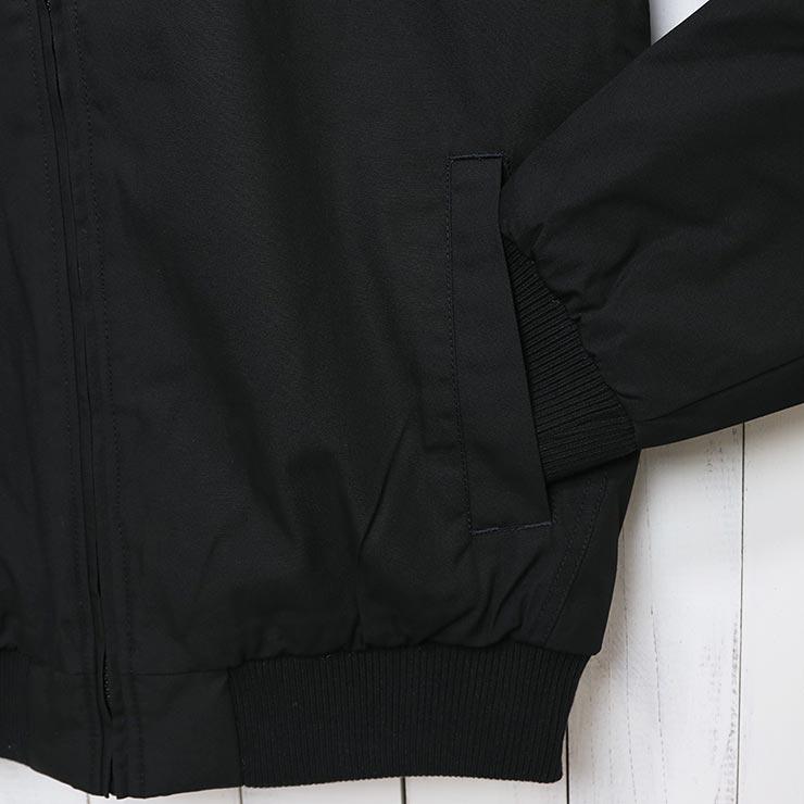 VOLCOM ボルコム HERNAN 5K JACKET フード付きジャケット A1731900 BLK